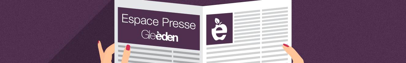 L'Espace Presse de Gleeden.com